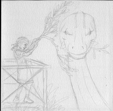 Dino Zoo 2 Prelim sketch 25%