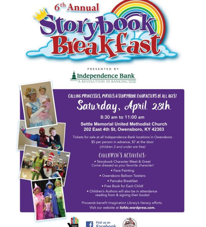 storybook breakfast